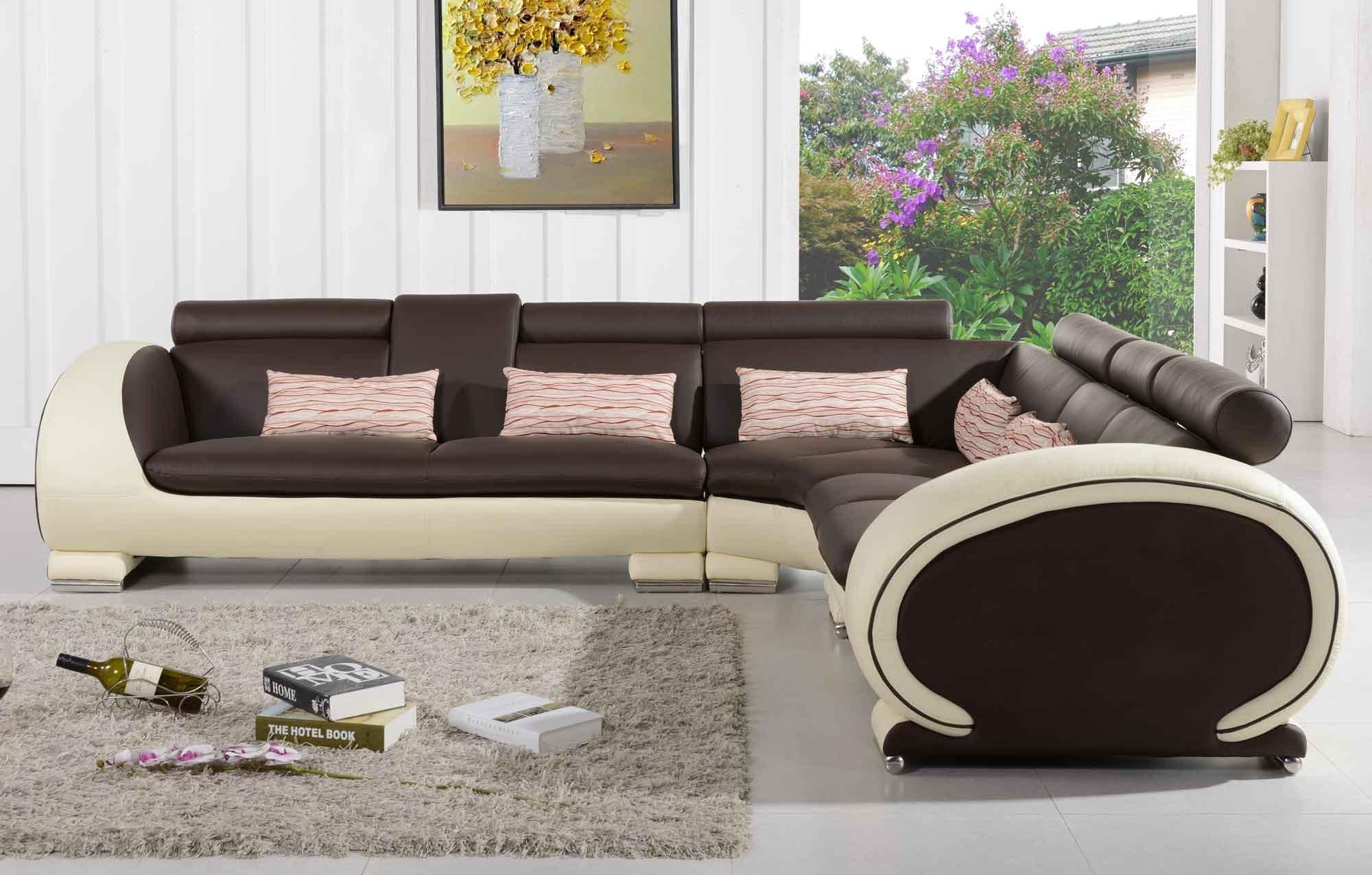 Canapé d'angle couleur creme