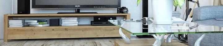 Meubles TV en teck pratiques et designs pour votre salon