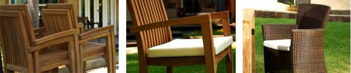 Chaises et fauteuils en tecks pour un confort optimal dans votre jardin
