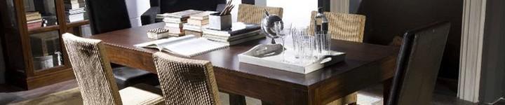 Table de salon en teck, pas chères pour des repas inoubliables
